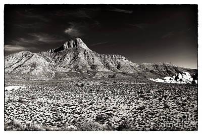 Distant Peak Poster by John Rizzuto