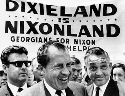 Dixieland Is Nixonland, Reads A Big Poster