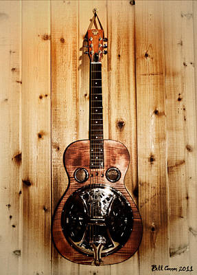 Dobro Guitar Poster by Bill Cannon
