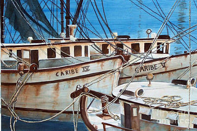 Dockside    Sold Prints Available Poster