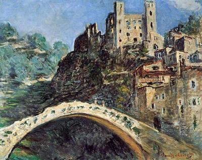 Dolceacqua Poster by Claude Monet