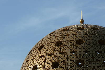 Dome Along Muttrah Corniche Poster by Gregory T. Smith