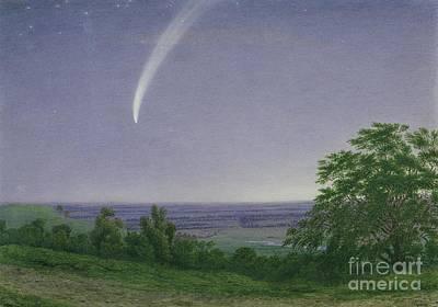 Donati's Comet - Oxford Poster