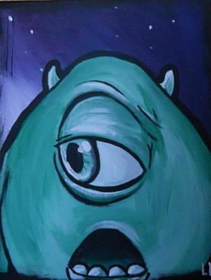 Don't Blink #2 Poster by Lisa Leeman
