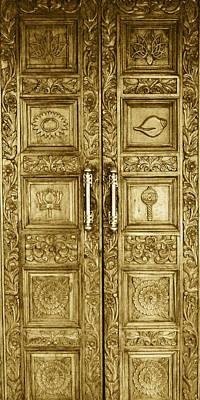 Door Made Of Gold Poster
