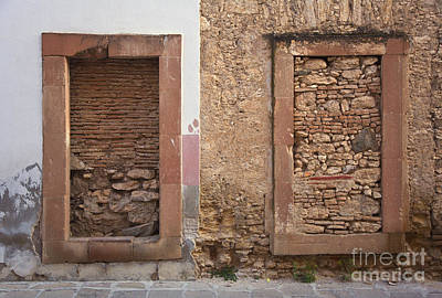 Poster featuring the photograph Doors - Mineral De Pozos Mexico by Craig Lovell