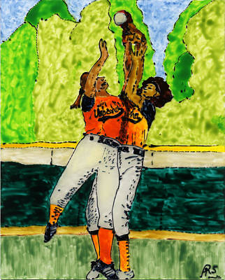 Double Play Poster by Phil Strang