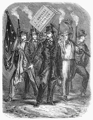Douglas: Election Of 1860 Poster by Granger