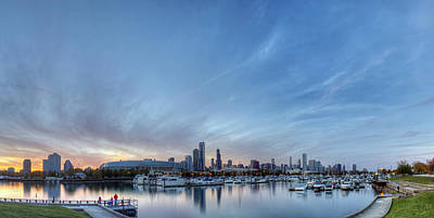 Downtown Chicao From Northerly Island Poster by Twenty Two North Photography