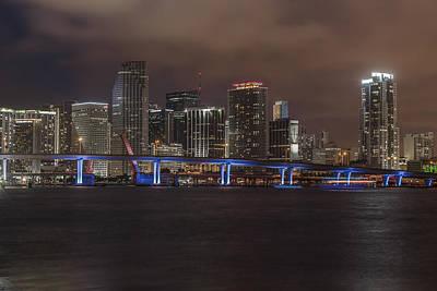 Downtown Miami 2012 Poster by Dan Vidal