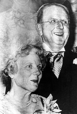 Dr. Norman Vincent Peale, And Wife Poster