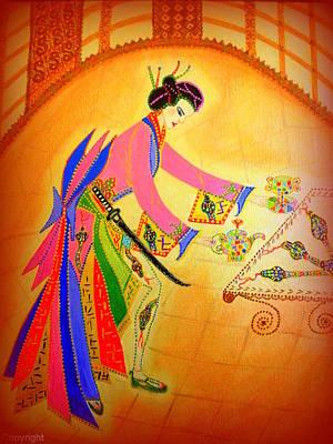 Dragon-geisha Poster