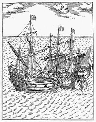 Drake: Golden Hind, 1579 Poster
