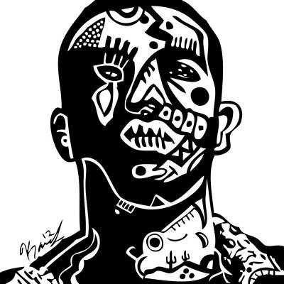 Drake Poster by Kamoni Khem