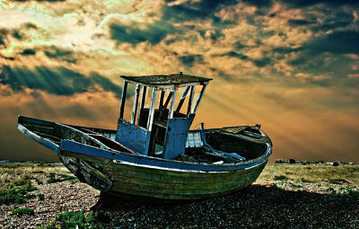 Dramatic Dungeness Poster