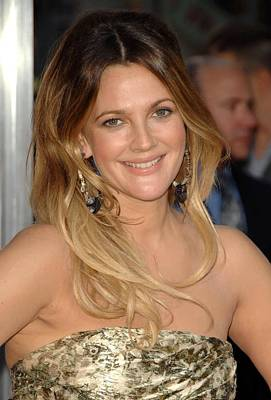 Drew Barrymore At Arrivals For Going Poster by Everett