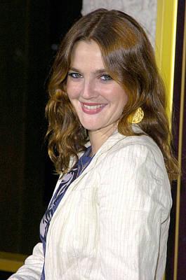 Drew Barrymore Wearing A Zara Jacket Poster by Everett