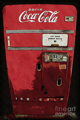 Drink Coca Cola - 15 Cents A Bottle Poster