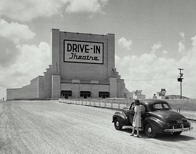 Drive In Poster by Archive Holdings Inc.