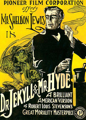 Dr.jekyll & Mr. Hyde, Sheldon Lewis Poster