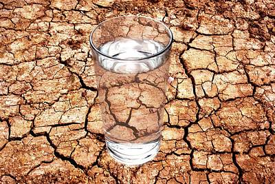 Drought Poster by Victor De Schwanberg
