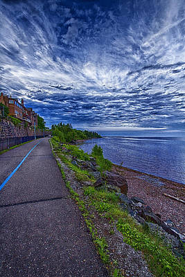 Duluth Lake Superior Trail Poster