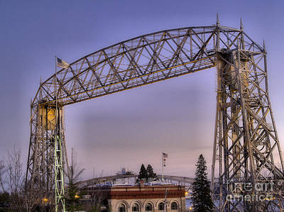 Duluth Lift Bridge Poster by Jimmy Ostgard