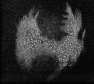 Dumb-bell Nebula, 19th Century Artwork Poster
