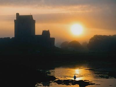 Dunguaire Castle, Kinvara, Co Galway Poster by The Irish Image Collection