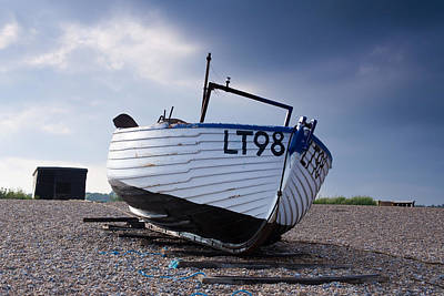 Dunwich Fishing Boat. Poster
