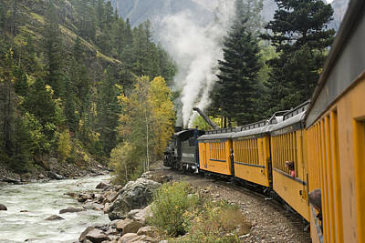 Durango-silverton Train - 1161 Poster