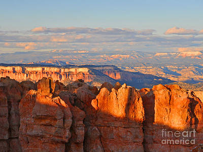Dusk At Bryce Canyon National Park Poster