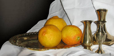 Dutch Still Life  Poster by Ben Van Rooyen