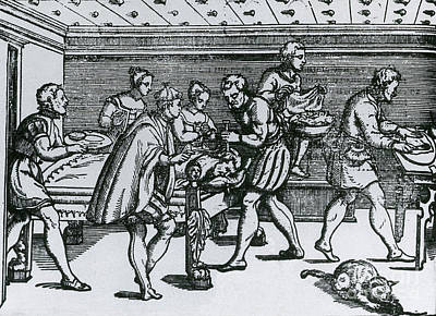Earliest Depiction Of Craniotomy Poster by Science Source