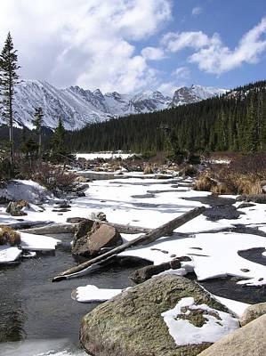 Early Winter At Long Lake Poster