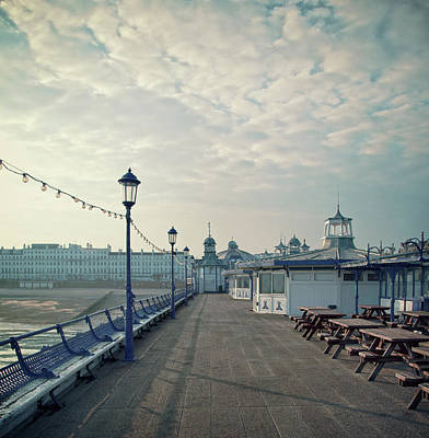 Eastbourne Pier Promenade Poster by Paul Grand Image