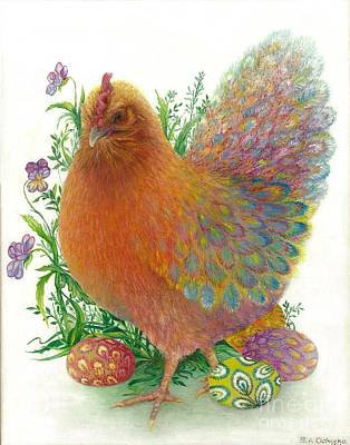 Easter Hen / Sold Poster