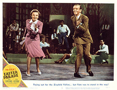 Easter Parade, Judy Garland, Fred Poster by Everett