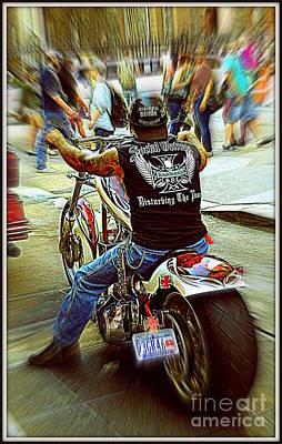 Easy Rider Poster by Padamvir Singh