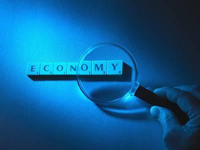 Economic Scrutiny, Conceptual Image Poster by Tek Image