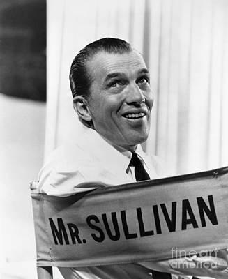 Ed Sullivan (1902-1974) Poster by Granger