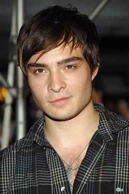 Ed Westwick At Arrivals For Premiere Poster by Everett