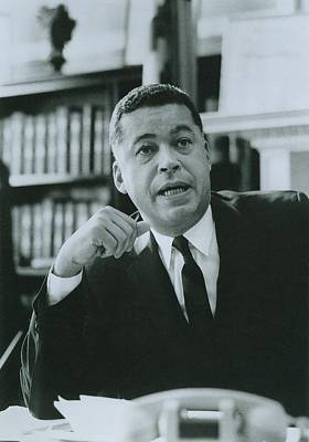 Edward Brooke B. 1919, Elected Poster by Everett