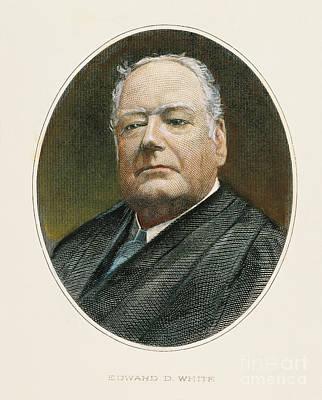 Edward Douglass White Poster