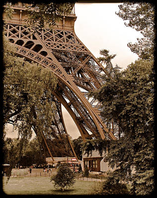 Paris, France - Eiffel Poster