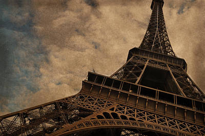Eiffel Tower 2 Poster by Mary Machare