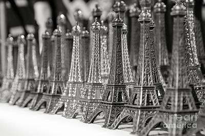 Eiffel Tower Miniature Poster