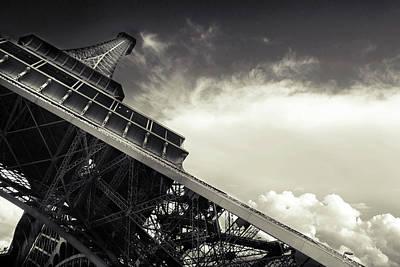 Eiffel Tower Poster by Simona Dumitru