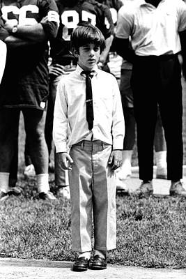 Eight-year-old John F. Kennedy Jr Poster by Everett