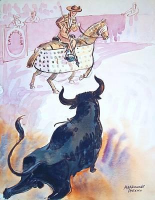 El Toro Poster by Bill Joseph  Markowski